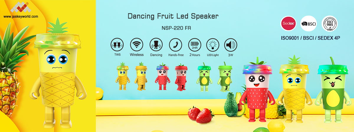 mini original patented dancing speakers