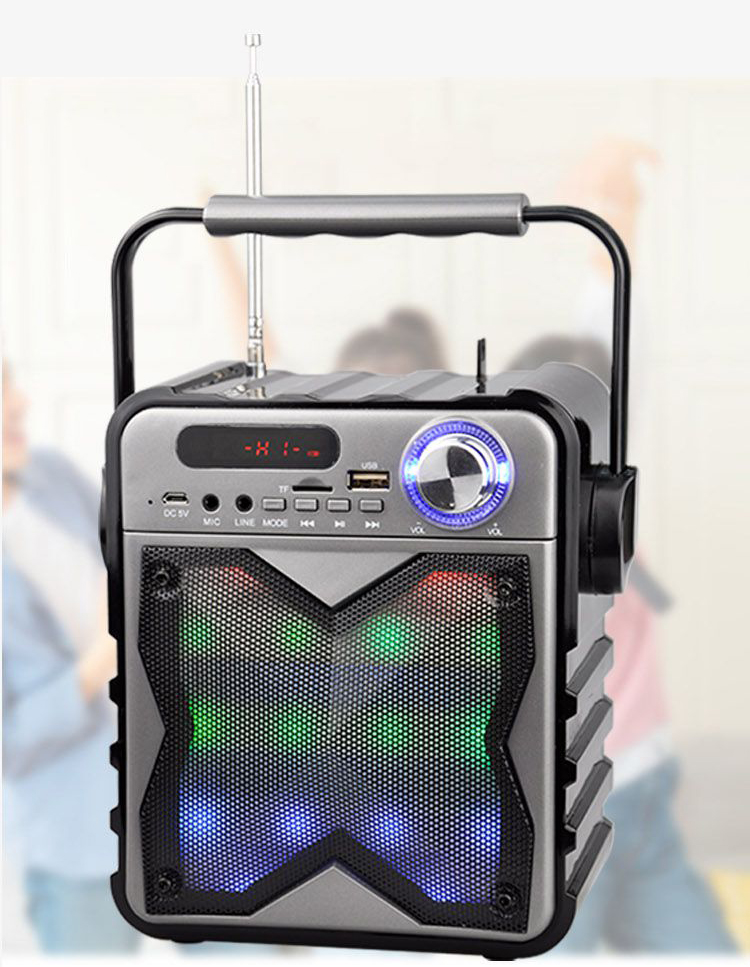 Speaker With Lights
