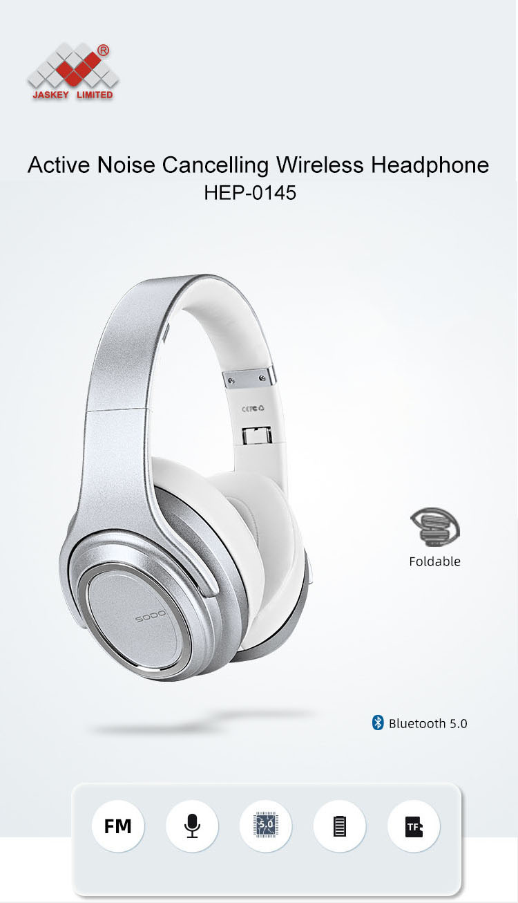 Noise Cancelling Wireless Headphone