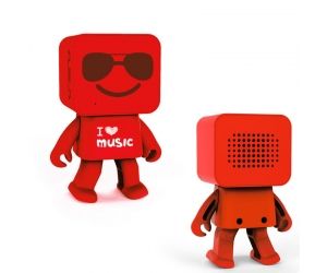 Robot dancing speakers music box dancing  robot bluetooth speaker