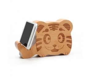 bluetooth wooden speaker wooden portable animal speakers for phone holder