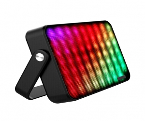 Multi Color Flash LED Wireless Bluetooth Portable Speaker Built in Speakerphone SD Card Slot NSP-8124
