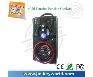 Multi-functional portable speakers card inserted U disk square dance speaker audio speakers MSP-1039