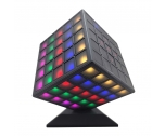 360 Degree Revolving Full Light LED Cubee Speaker Plus NSP-0148
