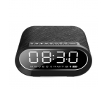 Clock Bluetooth Speaker With Wireless Charger NSP-0225