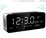 High Quality Bluetooth With Alarm Clock Speaker, Calender, Temperature NSP-0081