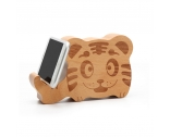 China bluetooth wooden speaker wooden portable animal speakers for phone holder factory