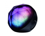 China Electronics LED Color Changing Ball Light Wireless Bluetooth Speaker Music Player with FM Radio TF and Remote Control factory