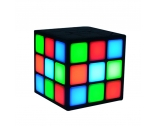 Multi-function LED cube promotional speaker Bluetooth speaker flash flash cube speakers variety of colors designed to NSP-8117
