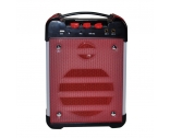 MSP-K6 Custom Speaker Portable Speaker With Usb Port And Bluetooth Karaoke Mic With Speaker Manufacturer