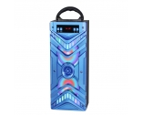 Portable bluetooth speakers square dancing speaker with LED lights