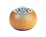 China Wooden speakers mini wooden bluetooth phone speaker factory